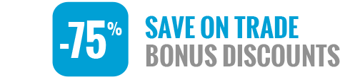 Save on Trade Bonus Discounts